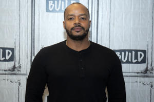 NEW YORK, NY - OCTOBER 03:  Donald Faison visits at Build Studio on October 3, 2018 in New York City.  (Photo by Santiago Felipe/WireImage)
