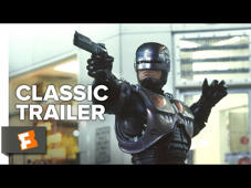 Subscribe to CLASSIC TRAILERS: http://bit.ly/1u43jDe Subscribe to TRAILERS: http://bit.ly/sxaw6h Subscribe to COMING SOON: http://bit.ly/H2vZUn Like us on FACEBOOK: http://bit.ly/1QyRMsE Follow us on TWITTER: http://bit.ly/1ghOWmt  RoboCop (1987) Official Trailer - Cyborg Police Sci-Fi Movie HD  In a dystopic and crime-ridden Detroit, a terminally wounded cop returns to the force as a powerful cyborg haunted by submerged memories.  Welcome to the Fandango MOVIECLIPS Trailer Vault Channel. Where trailers from the past, from recent to long ago, from a time before YouTube, can be enjoyed by all. We search near and far for original movie trailer from all decades. Feel free to send us your trailer requests and we will do our best to hunt it down.