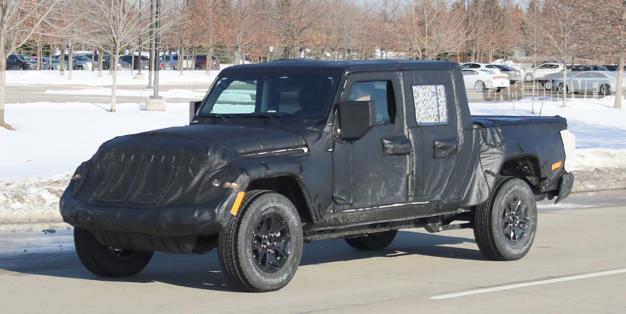 The Jeep Wrangler Pickup Truck Will Debut At La Auto Show