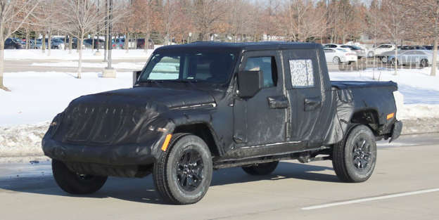 The Jeep Wrangler Pickup Truck Debuts Next Month Scrambler Name For New