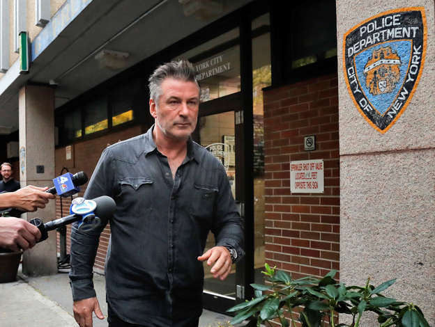 Alec Baldwin Arrested After Allegedly Punching Man Over