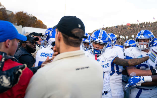 Watch Fight Breaks Out After Army Air Force Game