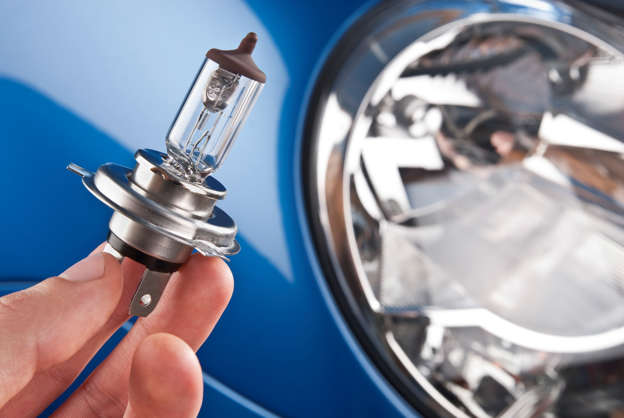 Blindingly expensive: Replacing a headlight bulb on some of