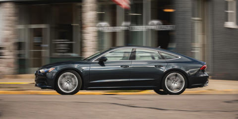 The second generation of Audi's sleek A7 premium hatchback is a well-executed take on the same appealing idea.