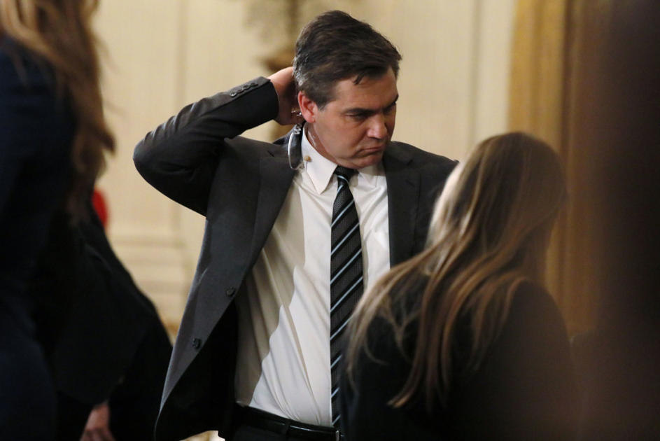 White House hit with backlash over suspending press pass of CNN's Acosta