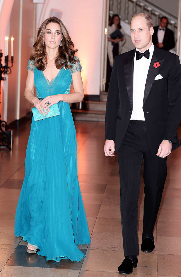 20b56e9dee4 The Duke and Duchess of Cambridge attend the Tusk Conservation Awards at  Banqueting House