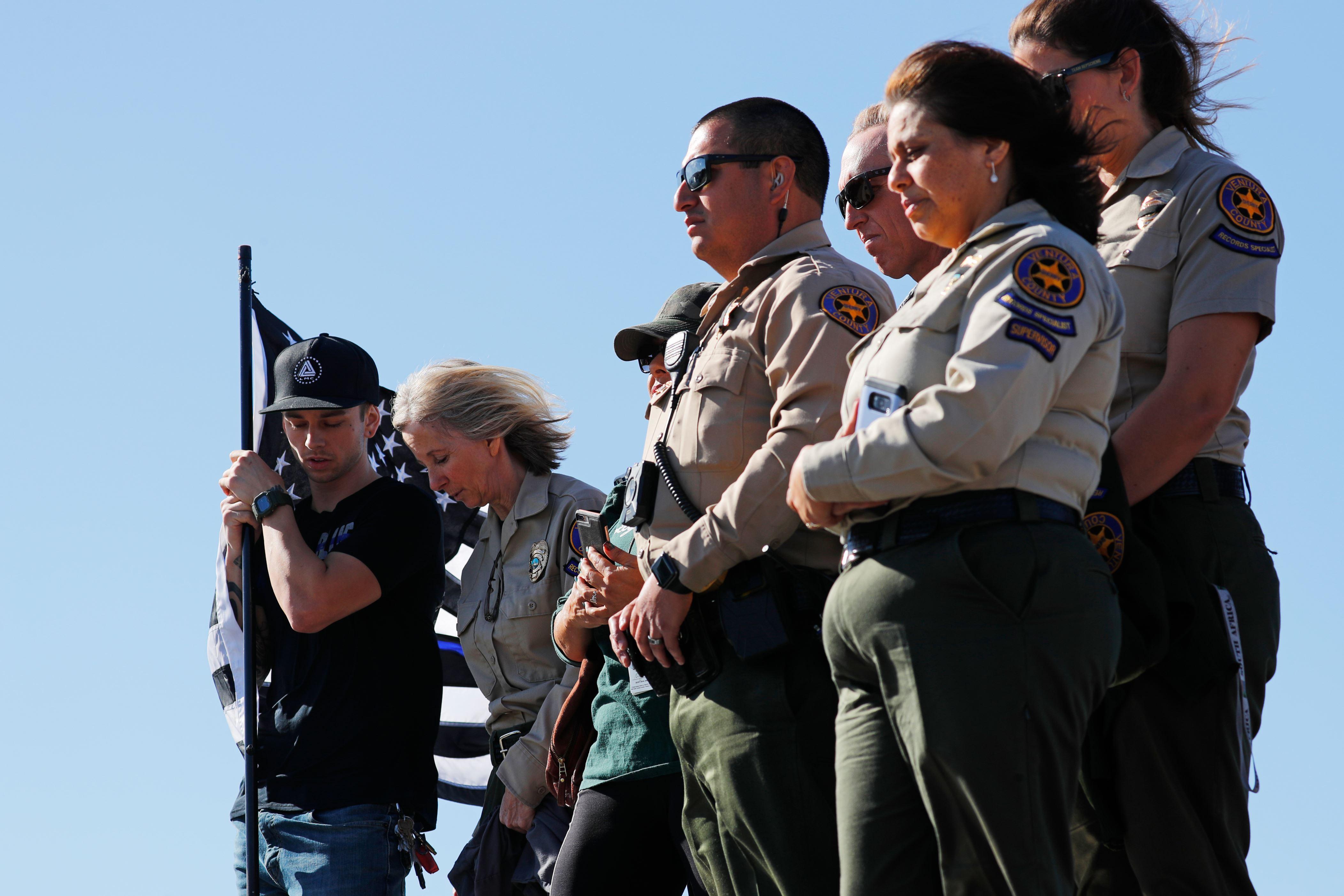 Transgender vetura county sheriff