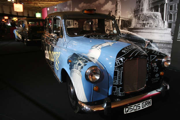 A British Taxi Cab Austin Fx4 1965 Is Pictured October 3 2008 At The