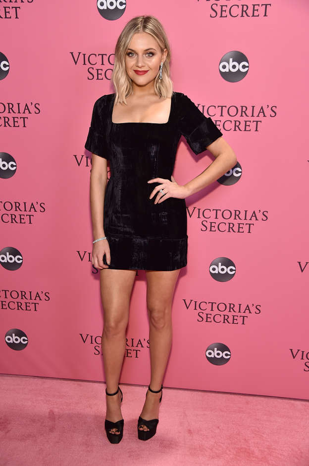 fc0198bbf31 Kelsea Ballerini attends the Victoria s Secret Fashion Show at Pier 94 on  November 8