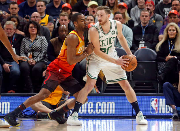 e5e807d13d4 Jazz ruin Gordon Hayward's return to Utah