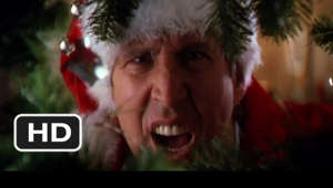 a close up of a person: Christmas Vacation movie clips: http://j.mp/1CRsQnC BUY THE MOVIE: http://j.mp/tD8sv0 Don't miss the HOTTEST NEW TRAILERS: http://bit.ly/1u2y6pr  CLIP DESCRIPTION: Clark Griswold (Chevy Chase) and wife, Ellen (Beverly D'Angelo), decide to take it easy on Christmas and host a big family get-together. Typical of the Griswold's, however, is the disaster that results.  FILM DESCRIPTION: Chevy Chase, star of National Lampoon's Vacation and its sequel, is back as the paterfamilias of the Griswold family (including Beverly D'Angelo as his missus) to skewer the Yuletide season. Chevy mugs, trips, falls, mashes his fingers and stubs his toes as he prepares to invite numerous dysfunctional relatives to his household to celebrate Christmas. Amidst the more outrageous sight gags (including the electrocution of a cat as the Christmas tree is lit) the film betrays a sentimental streak, with old wounds healing and long-estranged relatives reuniting in the Griswold living room. National Lampoon's Christmas Vacation was still capable of attracting an audience five years after its release -- it was one of the top-rated seasonal TV specials of 1994, outrating even the first network telecast of It's a Wonderful Life.  CREDITS: TM & © Warner Bros. (1989) Cast: Chevy Chase, Johnny Galecki, William Hickey, Randy Quaid, John Randolph, Beverly D'Angelo, Miriam Flynn, Juliette Lewis, Julia Louis-Dreyfus, Doris Roberts Director: Jeremiah S. Chechik Producers: William S. Beasley, John Hughes, Daniel Grodnik, Mauri Syd Gayton, Matty Simmons, Ramey E. Ward, Tom Jacobson Screenwriter: John Hughes  WHO ARE WE? The MOVIECLIPS channel is the largest collection of licensed movie clips on the web. Here you will find unforgettable moments, scenes and lines from all your favorite films. Made by movie fans, for movie fans.  SUBSCRIBE TO OUR MOVIE CHANNELS: MOVIECLIPS: http://bit.ly/1u2yaWd ComingSoon: http://bit.ly/1DVpgtR Indie & Film Festivals: http://bit.ly/1wbkfYg Hero Central: http://bit.ly/1AMUZwv Extras: http://bit.ly/1u431fr Classic Trailers: http://bit.ly/1u43jDe Pop-Up Trailers: http://bit.ly/1z7EtZR Movie News: http://bit.ly/1C3Ncd2 Movie Games: http://bit.ly/1ygDV13 Fandango: http://bit.ly/1Bl79ye Fandango FrontRunners: http://bit.ly/1CggQfC  HIT US UP: Facebook: http://on.fb.me/1y8M8ax Twitter: http://bit.ly/1ghOWmt Pinterest: http://bit.ly/14wL9De Tumblr: http://bit.ly/1vUwhH7