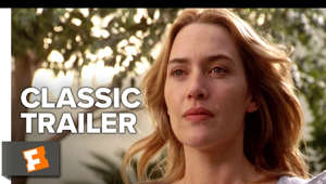 a close up of Kate Winslet: The Holiday (2006) Official Trailer starring Kate Winslet, Cameron Diaz, Jude Law! Two women troubled with guy-problems swap homes in each other's countries, where they each meet a local guy and fall in love.  Watch Official Clips: https://www.youtube.com/playlist?list=PLZbXA4lyCtqrtsfrh1jtKTcPddzxmetIJ  Subscribe to CLASSIC TRAILERS: http://bit.ly/1u43jDe Subscribe to TRAILERS: http://bit.ly/sxaw6h Subscribe to COMING SOON: http://bit.ly/H2vZUn We're on SNAPCHAT: http://bit.ly/2cOzfcy Like us on FACEBOOK: http://bit.ly/1QyRMsE Follow us on TWITTER: http://bit.ly/1ghOWmt  Welcome to the Fandango MOVIECLIPS Trailer Vault Channel. Where trailers from the past, from recent to long ago, from a time before YouTube, can be enjoyed by all. We search near and far for original movie trailer from all decades. Feel free to send us your trailer requests and we will do our best to hunt it down.