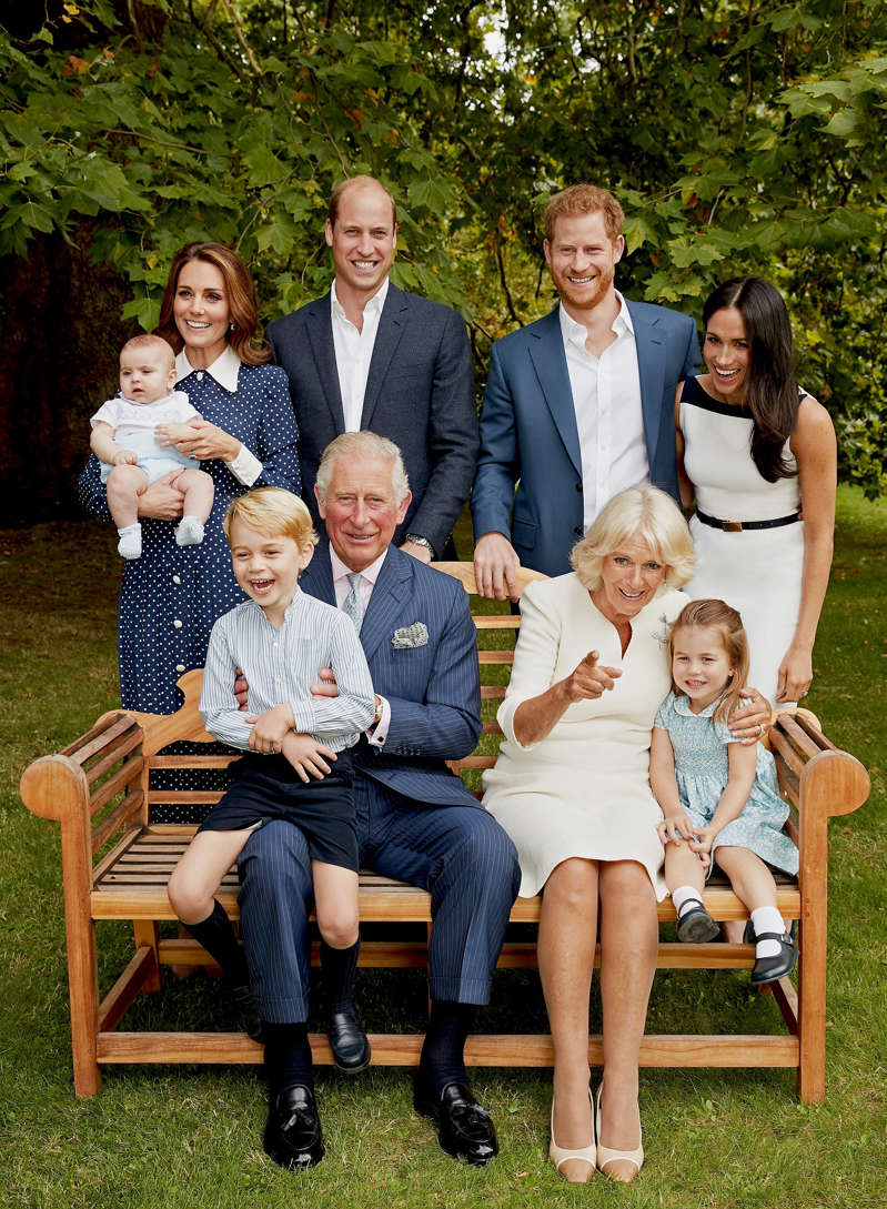 Prince Charles' 70th birthday official family portrait.