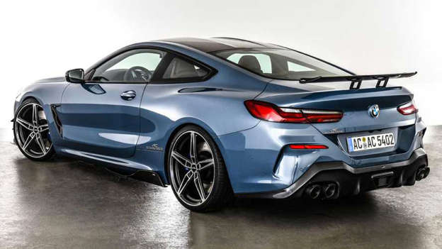 Utmerket BMW 8 Series Coupe Gets Aggressive Design From AC Schnitzer DF-83