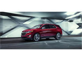a close up of a car: 2018 Chevrolet Equinox