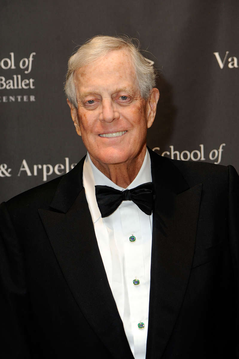 NEW YORK, NY - MARCH 06: David H. Koch attends The School Of American Ballet's 2017 Winter Ball at David H. Koch Theater at Lincoln Center on March 6, 2017 in New York City. (Photo by Rabbani and Solimene Photography/WireImage)