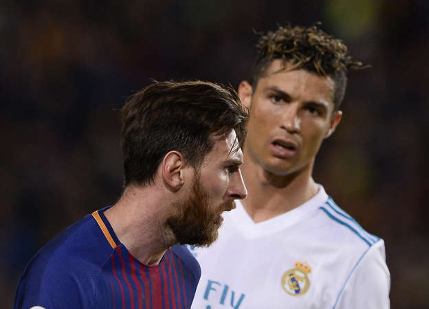Maybe he misses me   Cristiano Ronaldo urges Lionel Messi to  accept the  challenge  and join him in Italy rather than spending his whole career in  Spain ... 370b80fbec98d