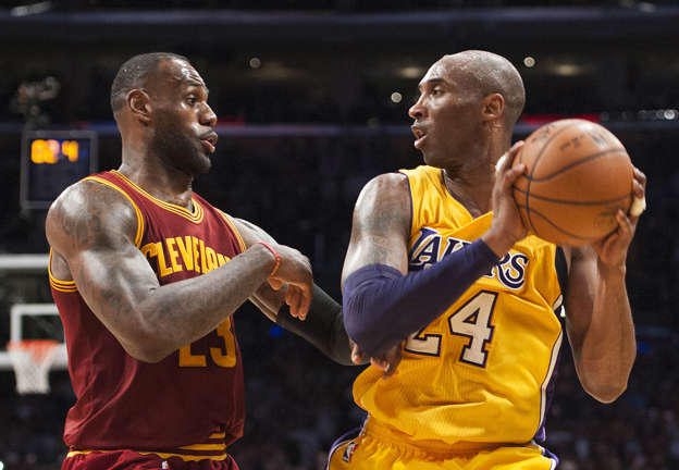 bfa09a0771c Kobe Bryant on MJ vs. LeBron GOAT Debate   Regular People Ask Very Simple  Questions