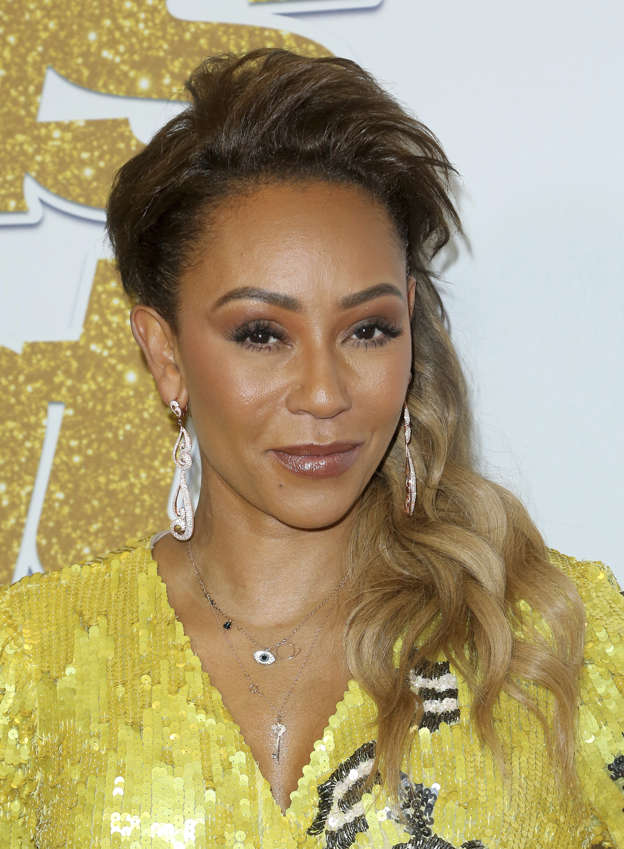 9d2cbd0df MEL B EXCLUSIVE: Singer's mother Andrea Brown says the star was involved in  a 'freak accident' and insists 'she'll be OK' after suffering TWO broken  ribs ...