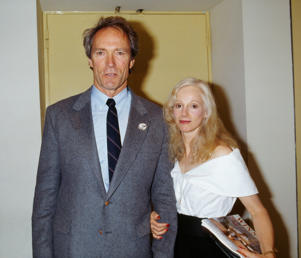 Sondra Locke and Clint Eastwood