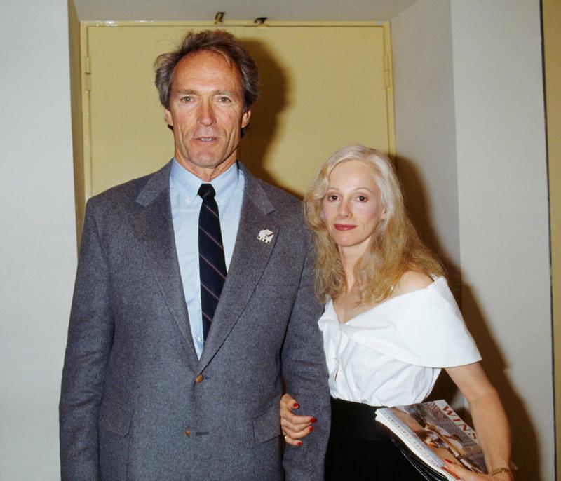 Sondra Locke and Clint Eastwood