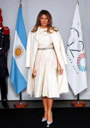 d28a41b83a8 Slide 4 of 188  US First Lady Melania Trump arrives at the Museum of Latin