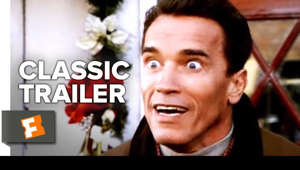 Arnold Schwarzenegger smiling for the camera: Jingle All the Way (1996) Trailer #1: Check out the trailer starring Arnold Schwarzenegger, Sinbad, and Phil Hartman! Be the first to watch, comment, and share old trailers dropping @MovieclipsClassicTrailers.  ► Buy or Rent on FandangoNOW: https://www.fandangonow.com/details/movie/jingle-all-the-way-1996/1MV89c9e007eb9f26755bd3210bc188bb4d?ele=searchresult&elc=jingle%20all%20the%20way&eli=0&eci=movies?cmp=MCYT_YouTube_Desc   Watch more Classic Trailers: ► Classic Horror Films Playlist http://bit.ly/2ovE2sV  ► Classic Remade Films Playlist http://bit.ly/2nQX1eG ► Classic Superhero Films Playlist http://bit.ly/2o3saxE  Workaholic Howard Langston (Arnold Schwarzenegger) wants to make things up to his son, Jamie (Jake Lloyd), and wife, Liz (Rita Wilson). He promises to get Jamie the hottest toy of the season, Turbo-Man -- even though it's Christmas Eve and the toy is practically sold out. As Langston hunts down the elusive gift, he runs into mailman Myron (Sinbad), another father on the same quest. With the clock winding down, Langston's moral code is tested as he starts to learn the real meaning of Christmas.  Subscribe to CLASSIC TRAILERS: http://bit.ly/1u43jDe We're on SNAPCHAT: http://bit.ly/2cOzfcy Like us on FACEBOOK: http://bit.ly/1QyRMsE Follow us on TWITTER: http://bit.ly/1ghOWmt  Welcome to the Fandango MOVIECLIPS Trailer Vault Channel. Where trailers from the past, from recent to long ago, from a time before YouTube, can be enjoyed by all. We search near and far for original movie trailer from all decades. Feel free to send us your trailer requests and we will do our best to hunt it down.