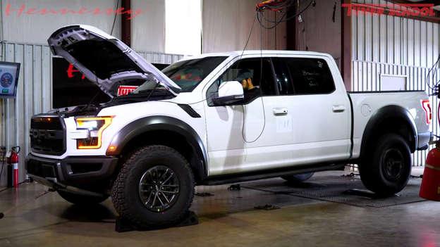 2019 Ford Raptor Dyno Test Shows 353 Rear-Wheel Horsepower