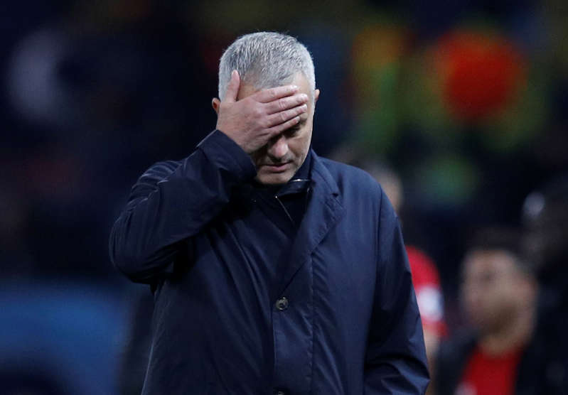 Soccer Football - Champions League - Group Stage - Group H - Manchester United v BSC Young Boys - Old Trafford, Manchester, Britain - November 27, 2018  Manchester United manager Jose Mourinho after the match  REUTERS/Phil Noble