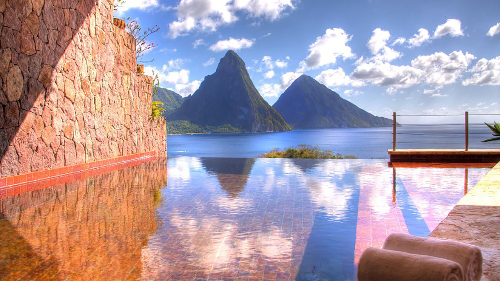 a boat sitting on top of a mountain: Holiday Getaways To Surprise Your Partner With