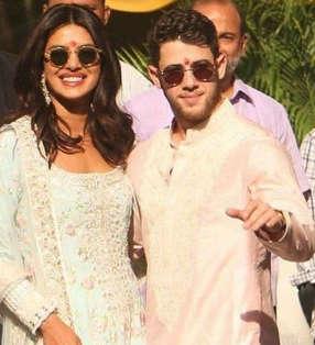 Priyanka and Nick arrive hand-in-hand in Jodhpur for wedding