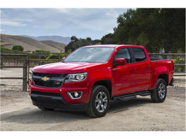 a car parked in a parking lot: 2018 Chevrolet Colorado