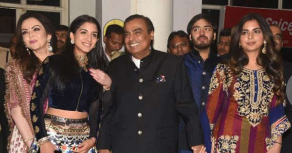 Priyanka Chopra And Nick Jonas' Wedding: Nita Ambani And Mukesh