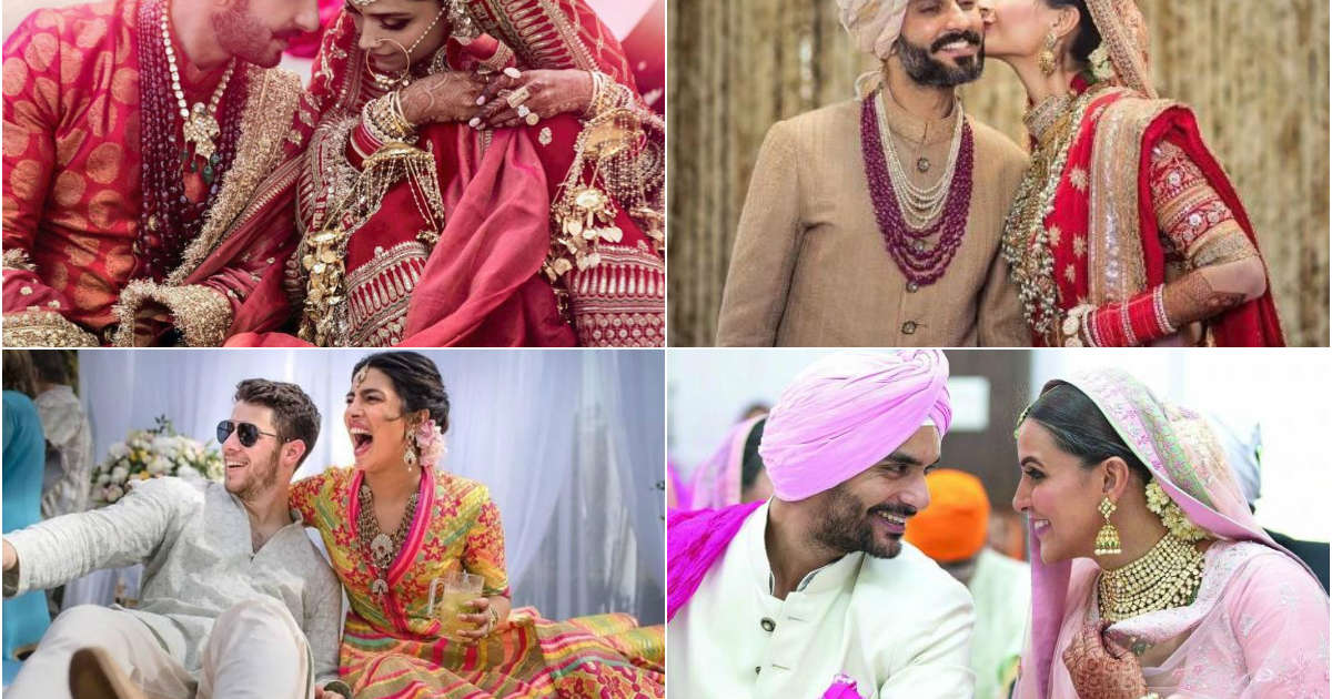 Celebrities who got married and engaged in 2018