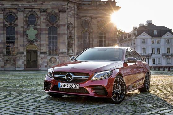 2019 Mercedes Benz C Class Sedan C350e Plug In Hybrid Overview Msn
