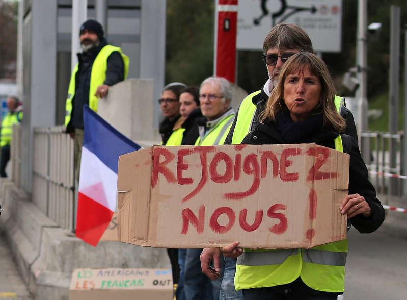 Police warned of potential violence during demonstrations in Paris on Saturday, with one small security forces union threatening a strike.