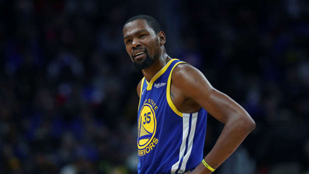 bbbce7d432e Bill Plaschke: Kevin Durant proves he's the NBA crybaby and not an option  for the Lakers after comments about LeBron James