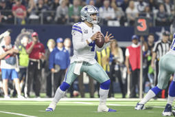Dallas Cowboys quarterback Dak Prescott.