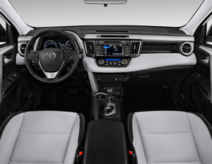 2017 Toyota Rav4 Xle Interior Photos Msn Autos