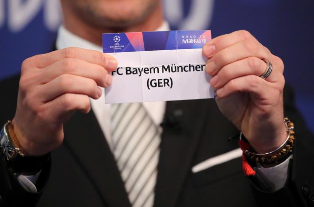 Champions League Bayern Munich To Face Liverpool Psg Meet Man Utd