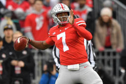 Quarterback Dwayne Haskins of the Ohio State Buckeyes