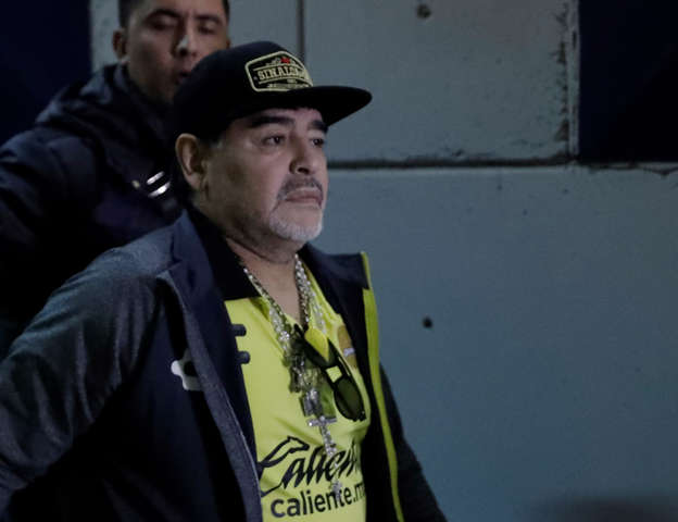 Maradona shows support for racism victim Koulibaly