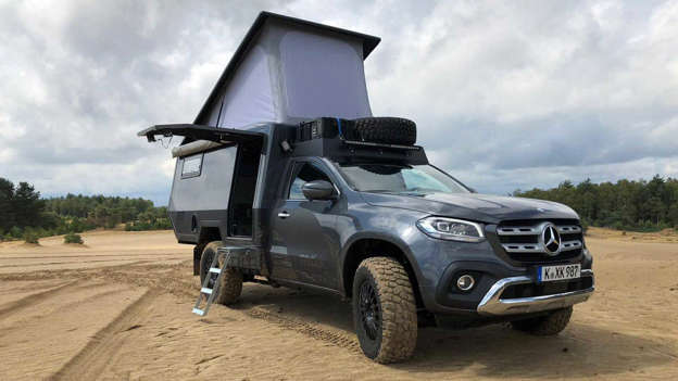 Fully Loaded Mercedes X Class Camper Costs 205 000