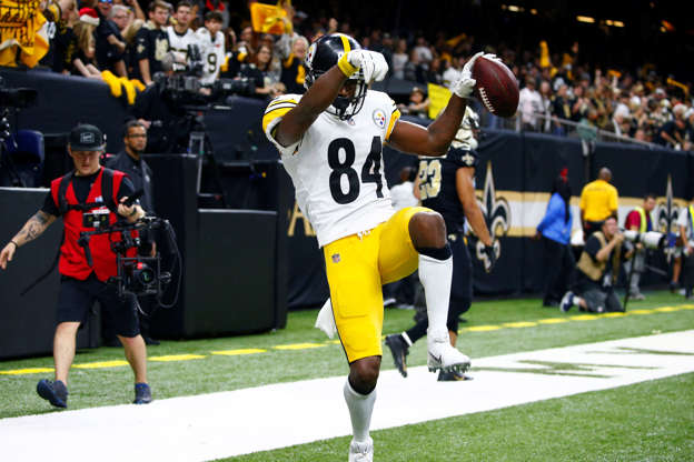 eafc19e9c Report  Steelers Expected to Consider Trade Offers for Receiver Antonio  Brown