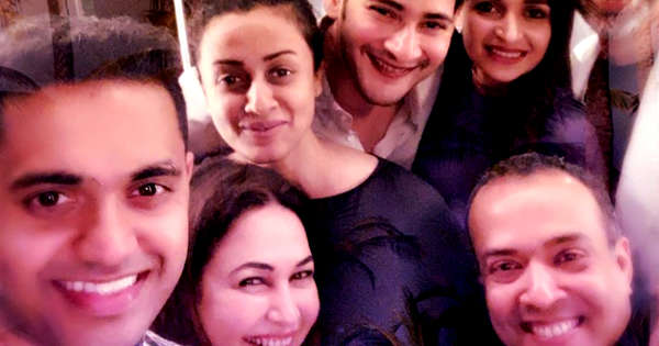 Mahesh Babu Rings In New Year In Dubai With Family See Photos