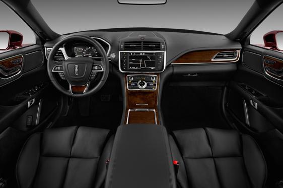 2018 Lincoln Continental Interior Photos Msn Autos
