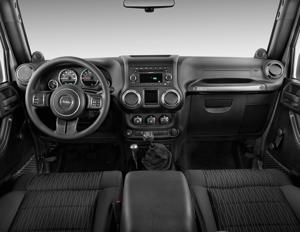 2017 Jeep Wrangler Interior Photos