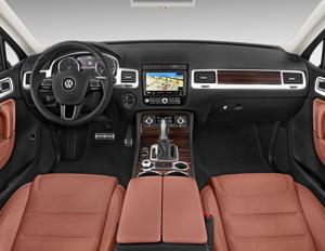 2016 Volkswagen Touareg Tdi Sport W Technology Interior Photos Msn Autos