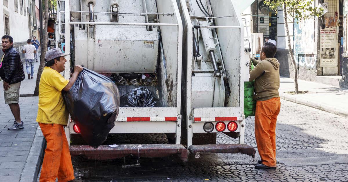 Resultado de imagen para recolectores de basura cdmx