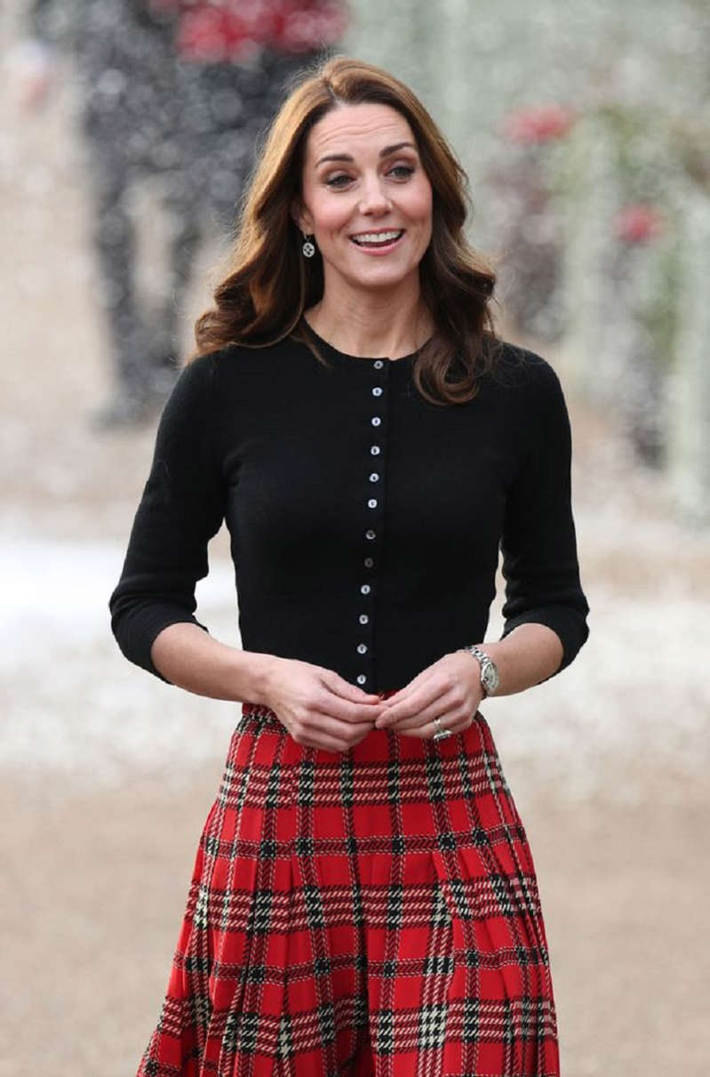 Kate's been praised for some outfits in 2018 (Image: PA)